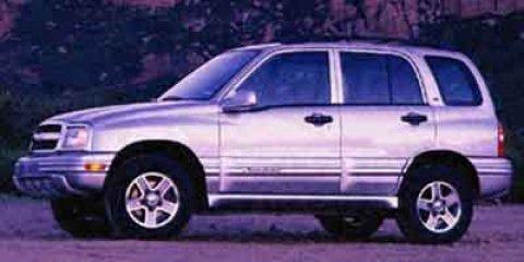 2002 Chevrolet Tracker 4dr Hardtop 4WD LT SILVER METALLIC
