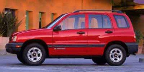 2002 Chevrolet Tracker 4dr Hardtop 4WD Base MEDIUM RED METALLIC