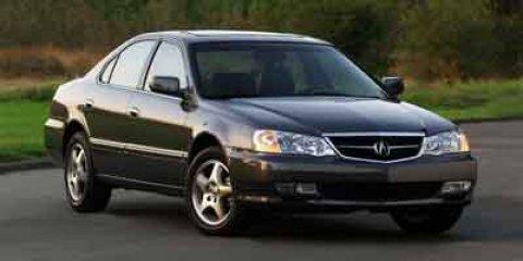 2003 Acura TL 4dr Sdn 3.2L WHITE Bumpers: body-color
