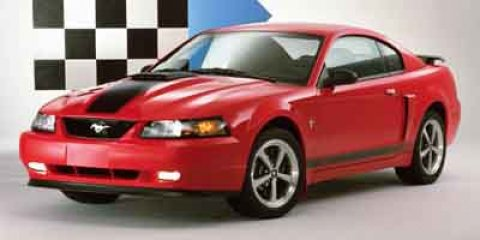 2004 Ford Mustang 2dr Cpe Premium Mach 1 RED