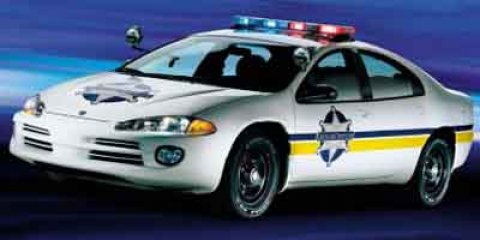 2004 Dodge Intrepid Police 4dr Sdn Special Srvc Grp GREEN