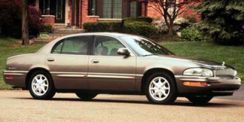 2000 Buick Park Avenue 4dr Sdn STERLING SILVER METALLIC