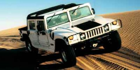 2002 HUMMER H1 4-Passenger Wgn Enclosed BLACK