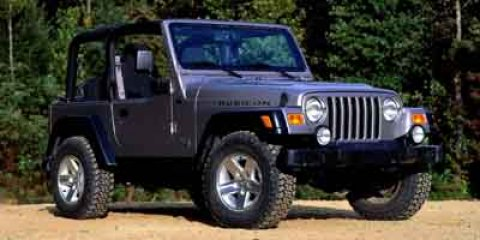 2003 Jeep Wrangler 2dr Rubicon BLUE Easy Folding SoftTop