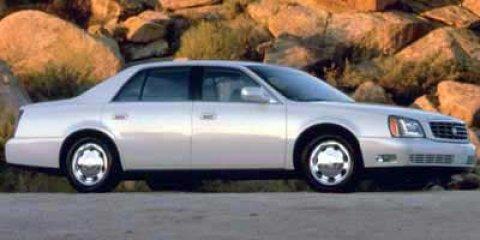 2000 Cadillac DeVille DHS 4dr Sdn Chrome Wheels