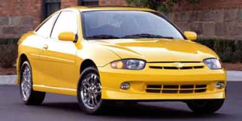 2003 Chevrolet Cavalier 2dr Cpe LS Sport YELLOW