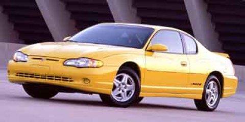 2003 Chevrolet Monte Carlo 2dr Cpe LS GALAXY SILVER METALLIC