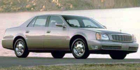 2000 Cadillac Deville 4dr Sdn WHITE DIAMOND PEARL
