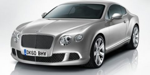 2015 Bentley Continental GT 2dr Cpe GLACIER WHITE