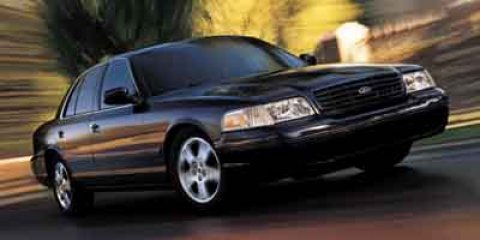 2003 Ford Crown Victoria 4dr Sdn LX RED Climate Control