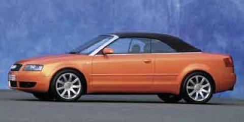 2003 Audi A4 2dr Cabriolet 1.8T CVT Dolphin Gray Metallic [gray