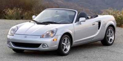 2003 Toyota MR2 Spyder 2dr Conv Manual BLACK Driver Air Bag