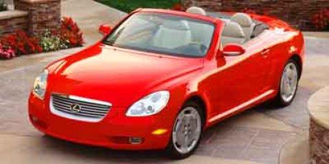 2003 Lexus SC 430 2dr Convertible GOLD CD Player CD Changer
