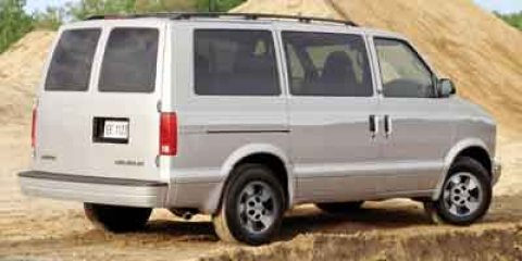 "2003 Chevrolet Astro Passenger Ext 111"" WB RWD SILVER"
