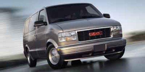 "2003 GMC Safari Passenger Ext 111"" WB AWD SUMMIT WHITE"