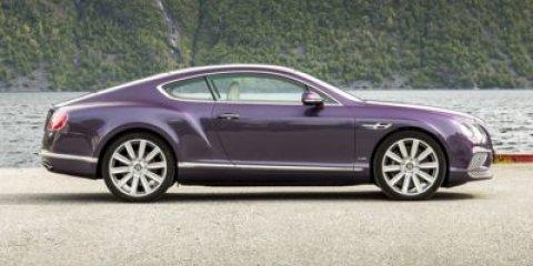 2016 Bentley Continental GT 2dr Cpe W12 BELUGA