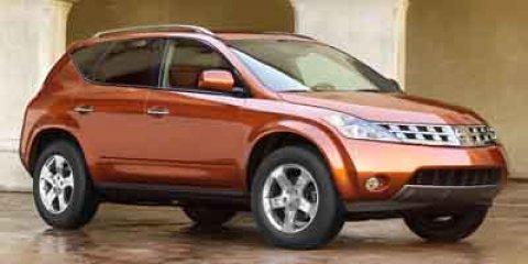 2003 Nissan Murano Child Safety Locks CD Player Bucket Seats