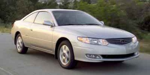 2003 Toyota Camry Solara 2dr Cpe SE Auto RED