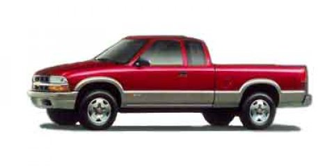 """2000 Chevrolet S-10 Ext Cab 123"""" WB 4WD LS w/ZR2 VICTORY RED"""