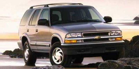 2000 Chevrolet Blazer 4dr 4WD LT LIGHT PEWTER METALLIC