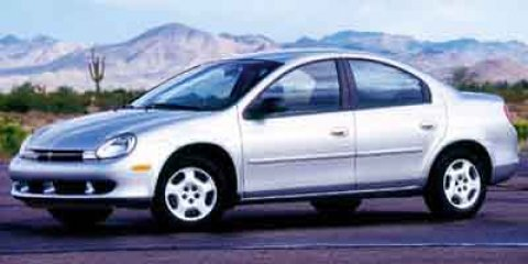 2000 Dodge Neon 4dr Sdn Highline SILVER Intermittent Wipers