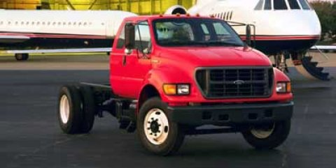 2000 Ford Super Duty F-650 Reg Cab XL, 26,000 GVWR