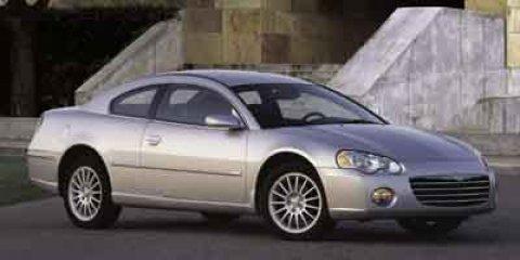 2003 Chrysler Sebring 2dr Cpe LXi WHITE Bodyside moldings