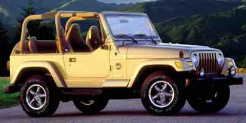 2000 Jeep Wrangler 2dr Sahara BLACK Four Wheel Drive Fog Lamps