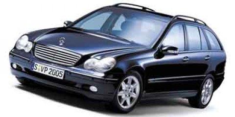 2004 Mercedes-Benz C-Class 4dr Wgn 2.6L 4MATIC SILVER