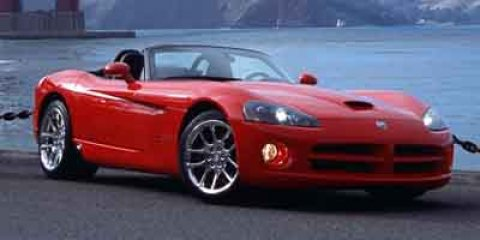 2003 Dodge Viper 2dr SRT-10 Convertible RED Convertible Soft To