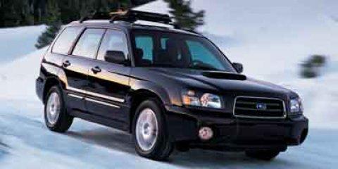 2004 Subaru Forester 4dr 2.5 XT Auto w/Prem Pkg & Lthr GOLD