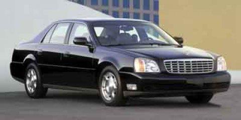 2004 Cadillac Deville 4dr Sdn WHITE Cruise Control