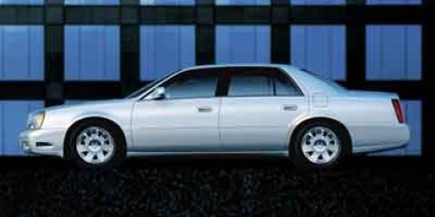 2004 Cadillac Deville 4dr Sdn DTS WHITE LIGHTNING