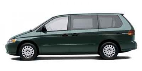 2002 Honda Odyssey 5dr LX GREEN Bumpers: body-color