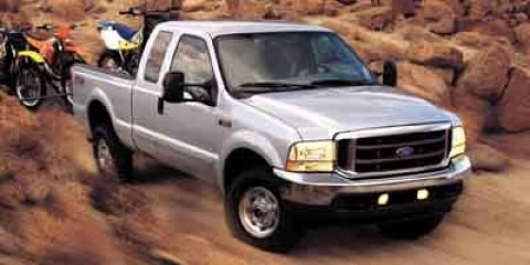 2004 Ford Super Duty F-250 GREEN Dual front impact airbags