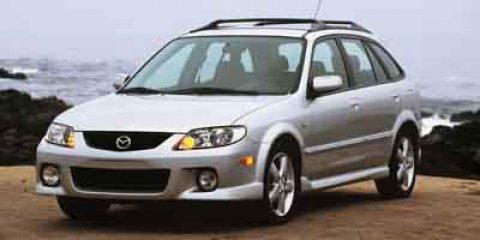 2003 Mazda Protege5 5dr Wgn Manual SILVER Cruise Control