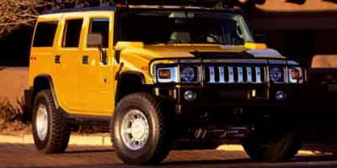 2004 HUMMER H2 4dr Wgn YELLOW CD Player Bucket Seats