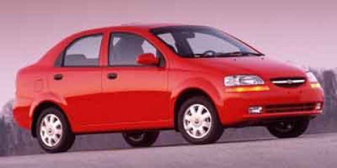 2004 Chevrolet Aveo 4dr Sdn SVM VICTORY RED