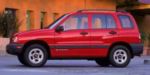 2004 Chevrolet Tracker 4dr Hardtop 4WD Base RED