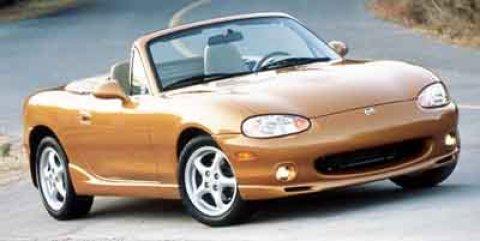 2000 Mazda MX-5 Miata SILVER Intermittent Wipers Fog Lamps