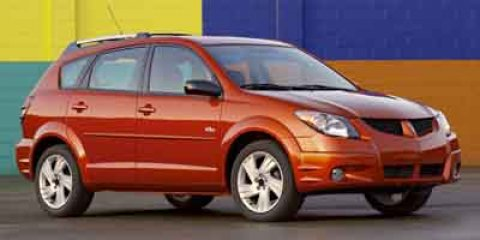 2004 Pontiac Vibe 4dr HB SALSA DARK RED CLOTH SEAT TRIM (STD)
