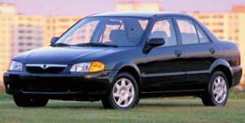 2000 Mazda Protege 4dr Sdn ES Auto WHITE