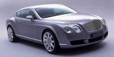 2004 Bentley Continental 2dr Cpe GT SILVER CD Changer
