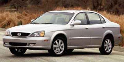 2004 Suzuki Verona BEIGE Cruise Control Conventional Spare Tire