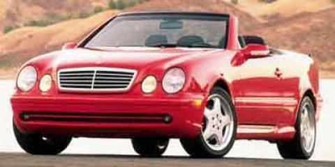 2000 Mercedes-Benz CLK-Class 2dr Cabriolet 4.3L SILVER