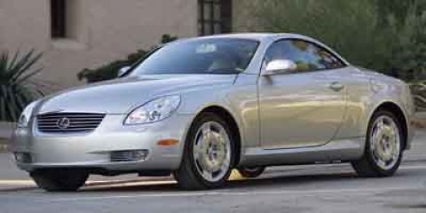 2004 Lexus SC 430 2dr Convertible WHITE GOLD CRYSTAL