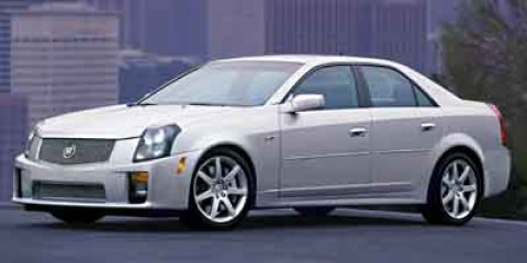 2004 Cadillac CTS-V 4dr Sdn LIGHT PLATINUM