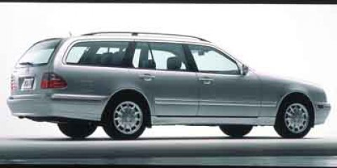 2000 Mercedes-Benz E-Class 4dr Wgn 3.2L AWD BLACK