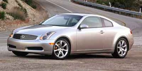 2004 Infiniti G35 Coupe 04 INFINTI G35 RED Cruise Control