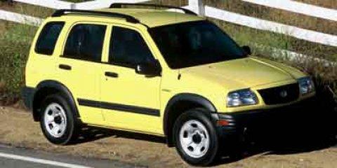 2004 Suzuki Vitara V6 Cruise Control Conventional Spare Tire